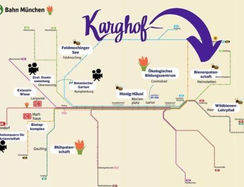 Bienenkarte der S-Bahn München